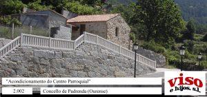 2003 Concello Padrenda Centro Parroquial
