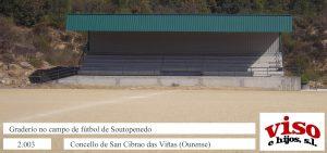 2003 Concello San Cibrao Graderío