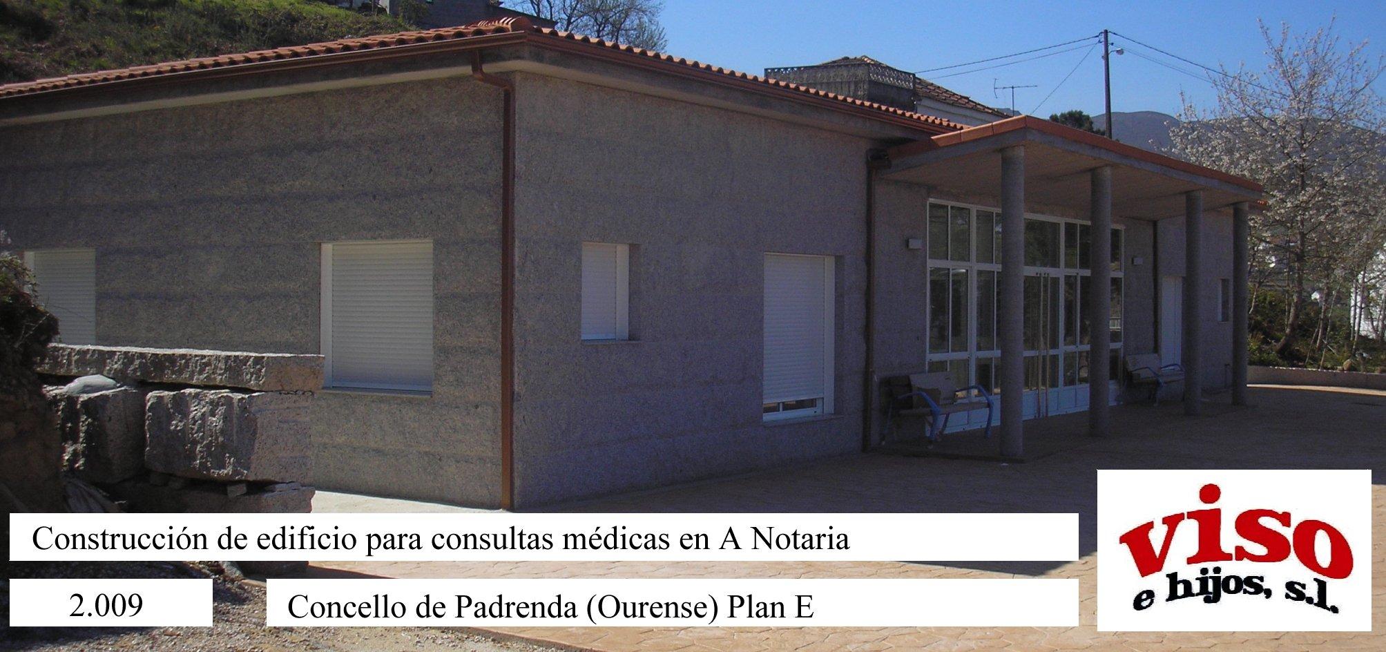 2009 Concello Padrenda PlanE Edificio