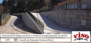 2009 Concello Padrenda PlanE Entorno