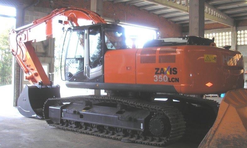 RETROEXCAVADORA HITACHI ZX-350-3